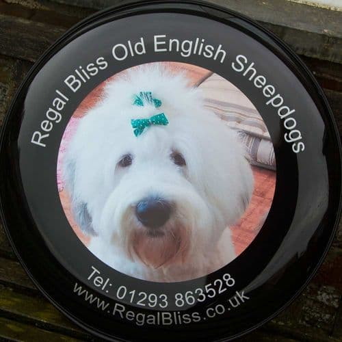 Spare Wheel Covers - Text & full colour logo |  The Sign Maker Shop
